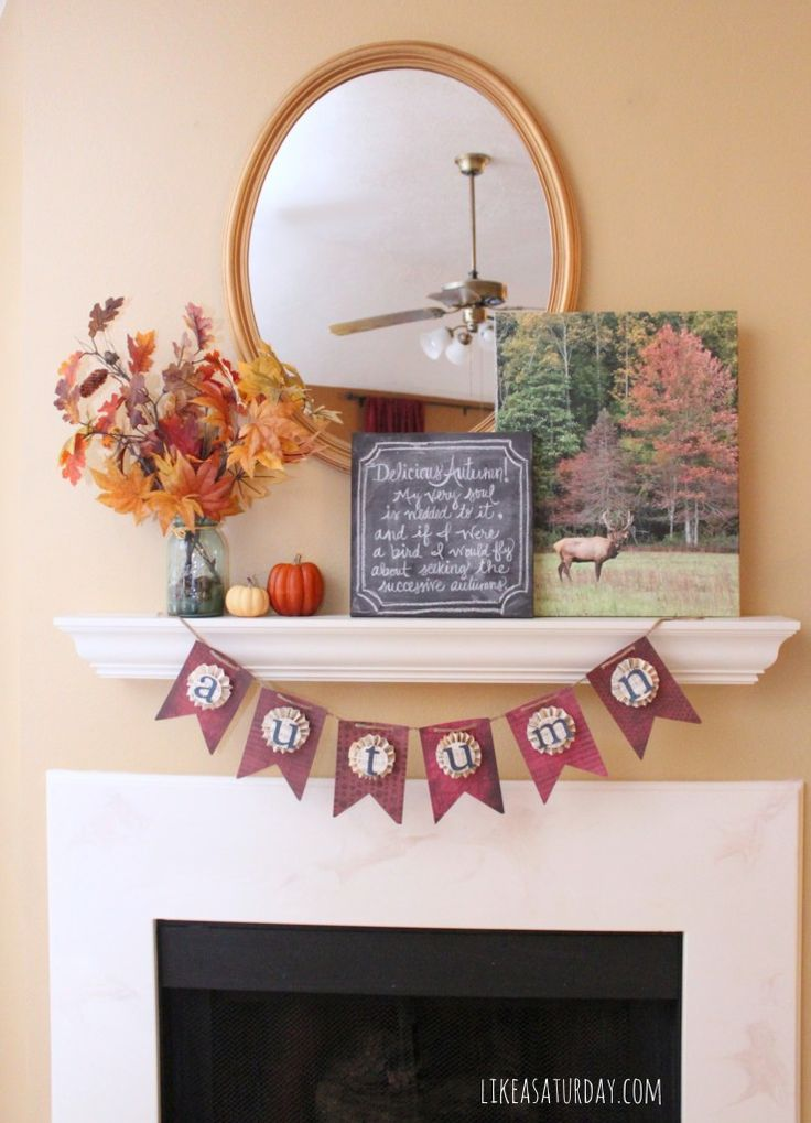 14 best images about mantel displays on pinterest for Mantel display ideas