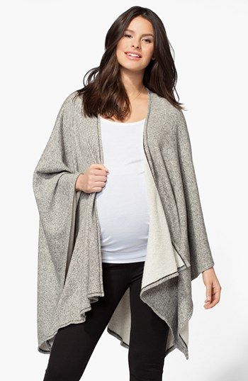 Ingrid & Isabel® 'Cozy' Maternity Wrap | Nordstrom  I'd bet @Michelle McKinney could make something like this.......