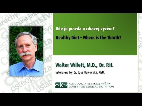 Kde je pravda o zdravej výžive? Walter Willett a Igor Bukovský - YouTube