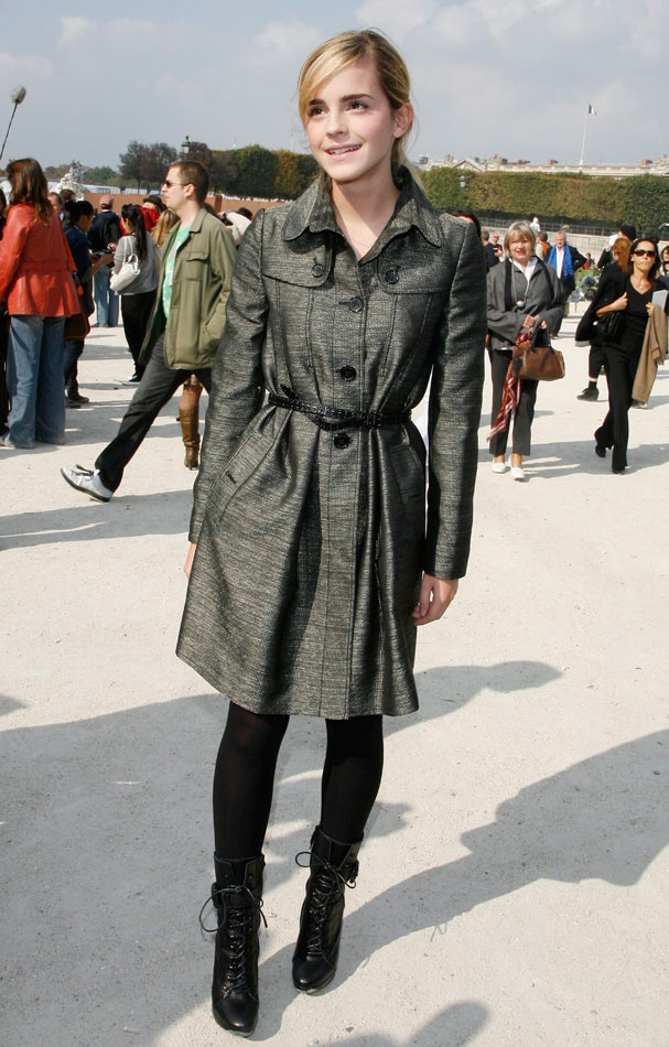 Le look d'Emma Watson en 2001