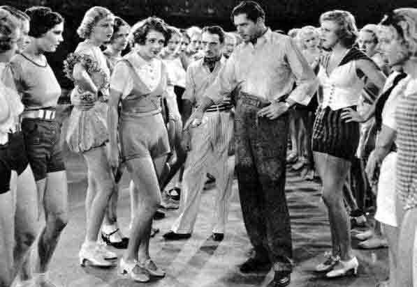 I love the outfits in 42nd Street, when they're all rehearsing!