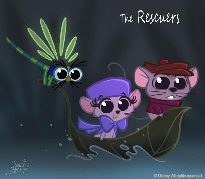 chibi disney characters | Disney Movie Characters Chibi Style by Artist David Gilson | Disney ...