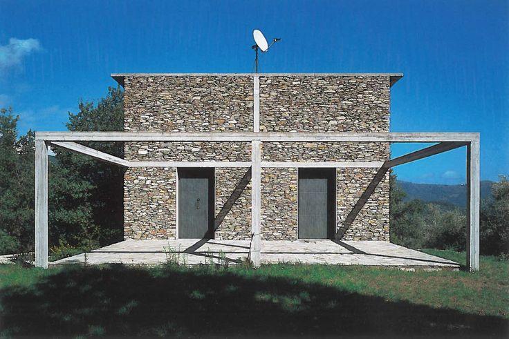 Herzog & de Meuron: Casa de Piedra (Stone house), Tavole, Italy, 1985