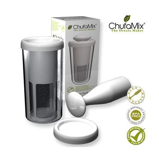 Chufamix: lijkt mij de gemakkelijkste manier om orgeade te maken (geen gedoe met zeef of doeken)