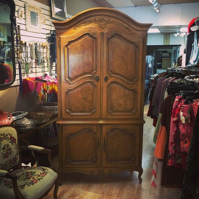 Thomasville Armoire Just Arrived!! #new2u #resalenotretail #New2uEscondido #CertifiedClean #Armoire #Thomasville #escondido #consignment #newinventory