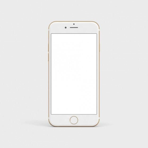 Download White Mobile Iphone 7 Front View For Any Designer That Is Looking To Display Their Design Professionally This Photoshop F Ilustrasi Bingkai Foto Bunga Cat Air