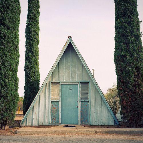 A Frame /Small Cabin, Tiny House, Art Studios, Little House, Guest House, Blue House, A Frames House, Architecture, A Frame House