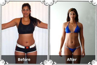 Month In One Bikini Body