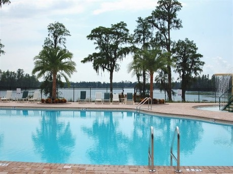 WatersEdge - Pool at Club House Homes in New Port Richey, Florida