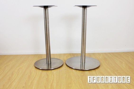 TIDA 45 Round Stainless Steel Table Base , Commercial & Cafe, NZ's Largest Furniture Range with Guaranteed Lowest Prices: Bedroom Furniture, Sofa, Couch, Lounge suite, Dining Table and Chairs, Office, Commercial & Hospitality Furniturte
