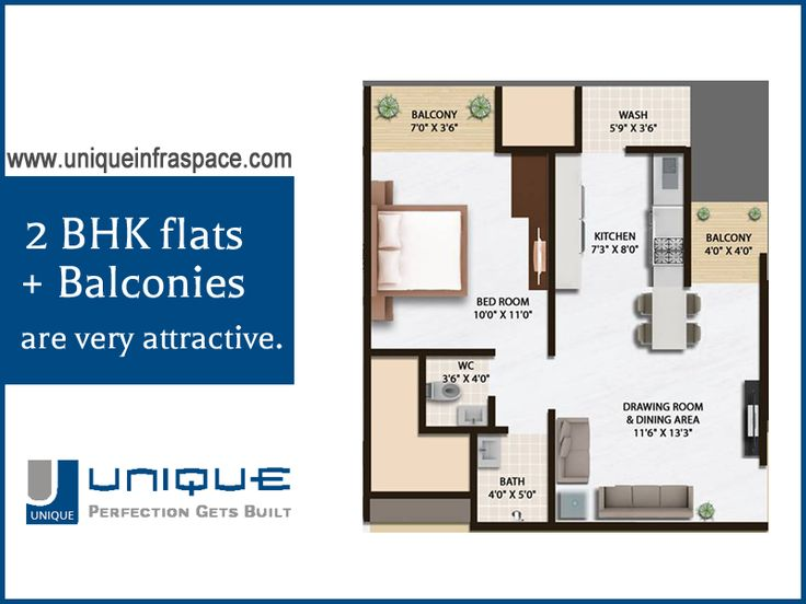 What are you waiting for??? Most luxurious #2BhkFlats in #Gota Ahmedabad at most affordable rates...Check out Unique InfraSpace. Hurry!!!