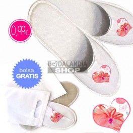 Zapatillas personalizadas para bodas