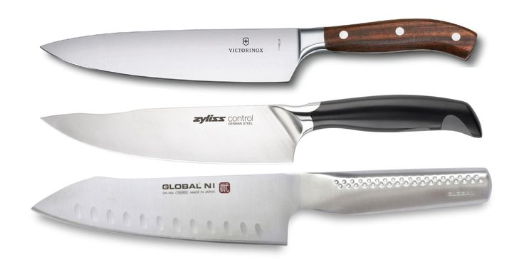 We tested some of the latest chef's knives, rating their cutting prowess.