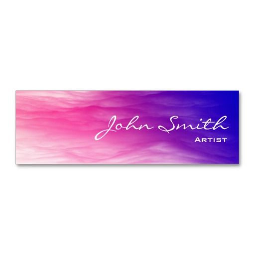 100 best 100 mini business cards for inspiration images on shop artistic colorful clouds mini business card created by cardfactory reheart Images