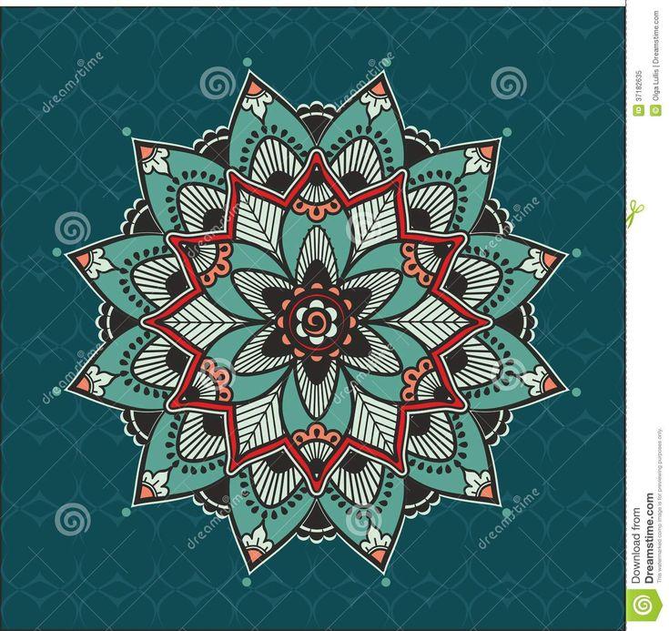 Mandala Floreale - Scarica tra oltre 29 milioni di Foto, Immagini e Vettoriali Stock ad Alta Qualità . Iscriviti GRATUITAMENTE oggi. Immagine: 37182635