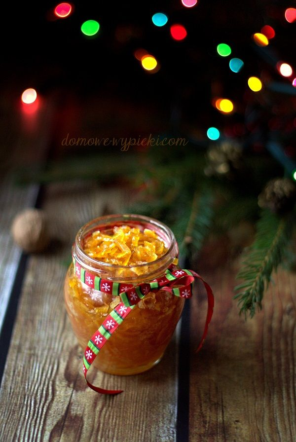 Candied Orange Zest  #zest #orange #christmas