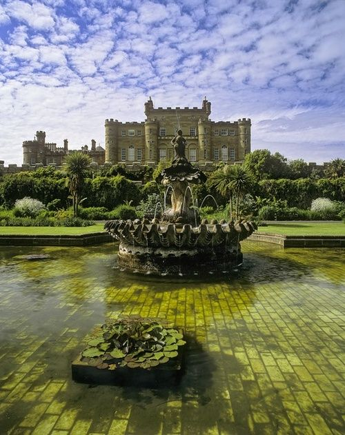 Culzean Castle, Lowlands, Scotland. One of the most amazing, least visited, hidden castle in Europe. Part of the castle is also a hotel. A couple of rooms are opened for guests to stay in, which can be booked months in advance.