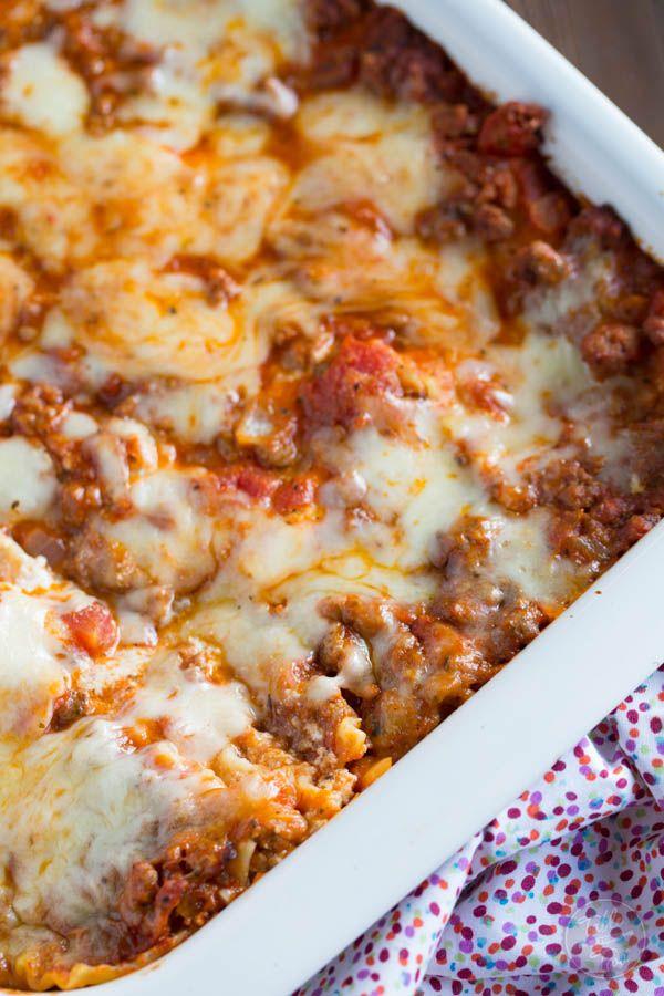 Más de 25 ideas increíbles sobre Lasagna casserole en ...