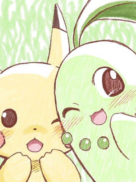 Mein Lieblings Team in Pokemon Mystery Dungeon hab immer gewechselt manchmal war ich Endivie und Pikachu als Partner und auch umgedreht #MavisChan
