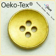 vintage gold metal buttons