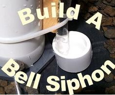 How To Build A Bell Siphon for aquaponics