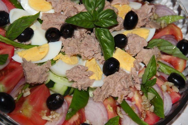 Godt og Sunt: Ekte Salade Niceoise