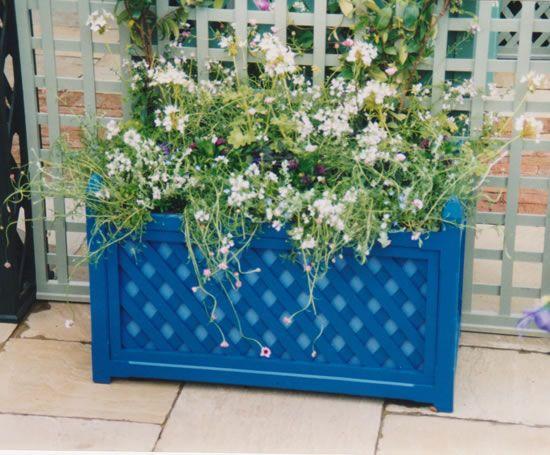 planter box terllis linton trellis trough planter i like the multiple layers of color