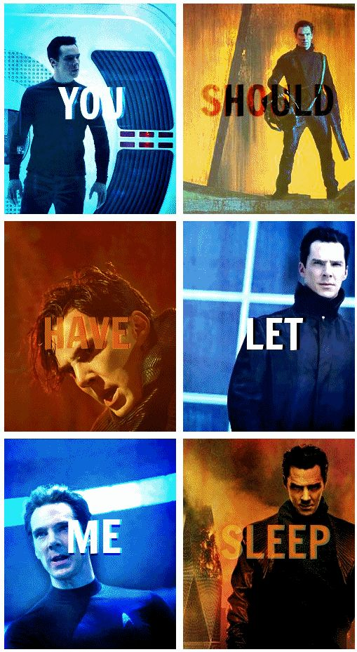 ... Just goes to show, some people you should just not wake up. Star Trek Into Darkness. Am I the only one that thought his hair looked AMAZING in this movie?!?! I mean, it was fantastic.