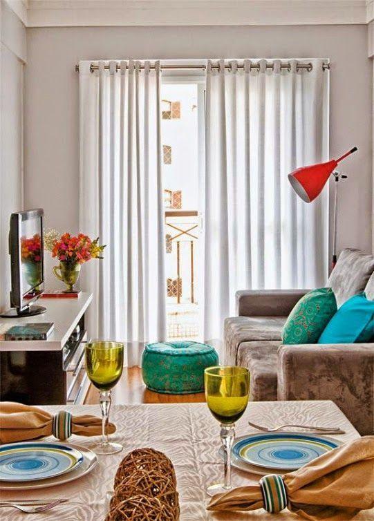 decoracion de salas pequeñas y modernas:
