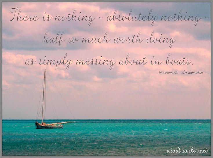 Great Sailing Quotes: Sailing Quotes From Sailboat Interior's I Love Sailing