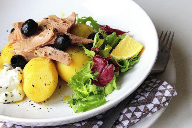 Brambory s tuňákem a jogurtovým dipem | Cooking with Šůša