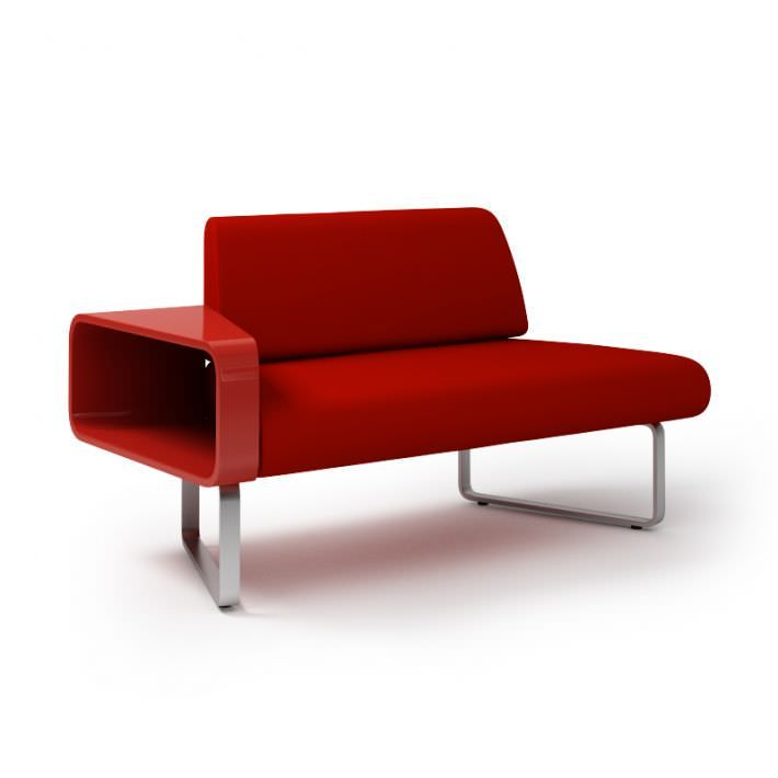 Red Modern Couch 001 Am92 3d Model Modern Red Couch Couch Divani Design