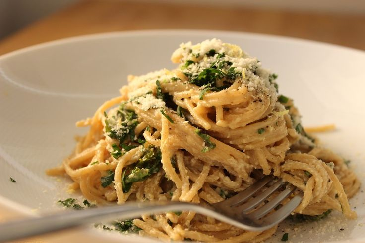 Spaghetti a la Caesar