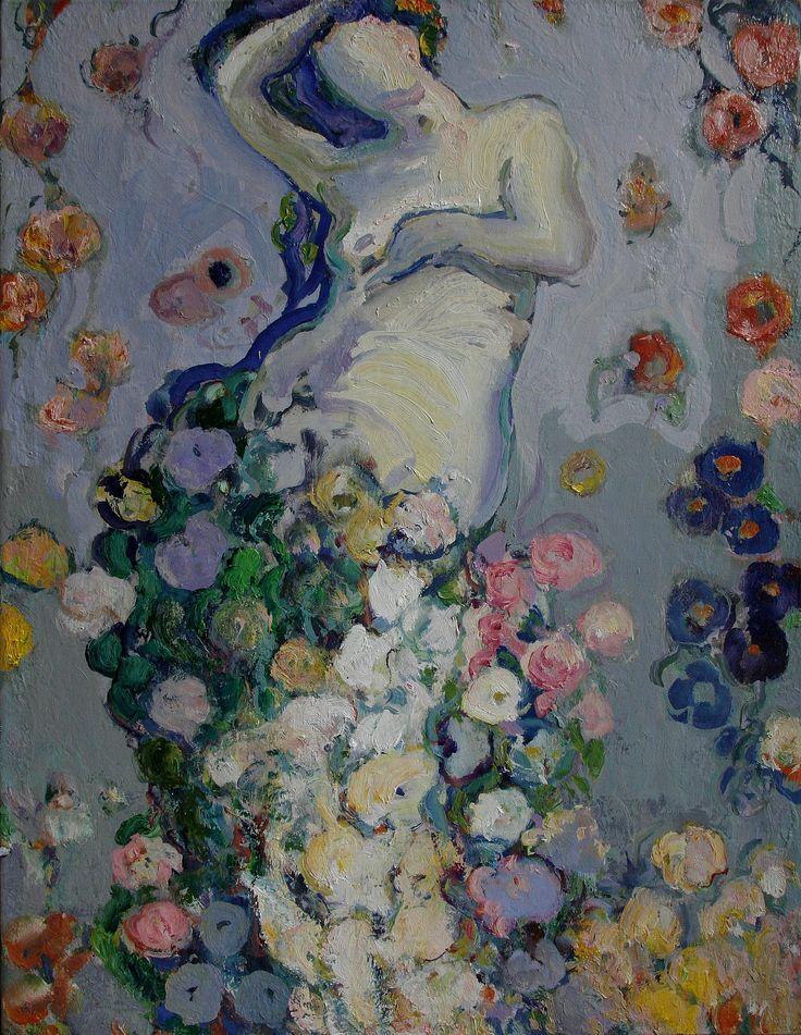 Tuomo Saali, Swing 2., oil on canvas, 2015 140x120cm