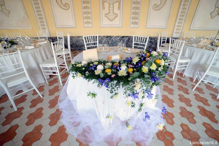 Tavolo degli sposi exclusive. Wedding designer & planner Monia Re - www.moniare.com | Organizzazione e pianificazione Kairòs Eventi -www.kairoseventi.it | Foto Photo27