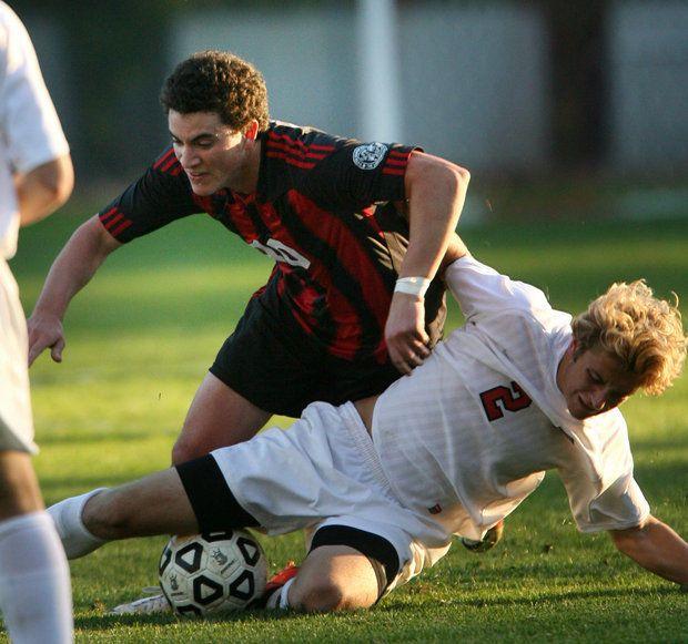 Dalstein, Hun School boys' soccer 'Hammer' Princeton Day