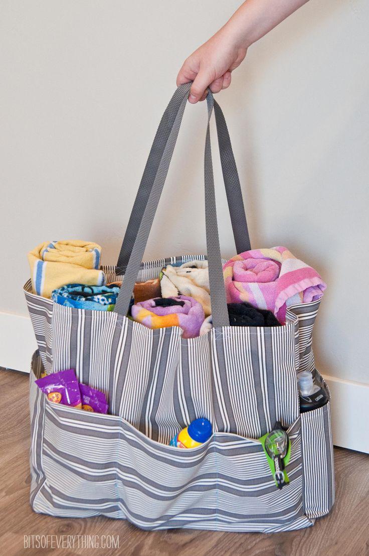 Pool Bag Sewing Tutorial