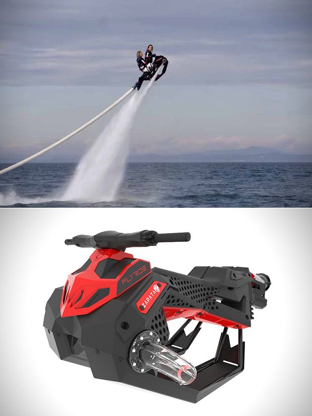 FLYRIDE Combines the Best of a Jet Ski and Jetpack Into One Crazy