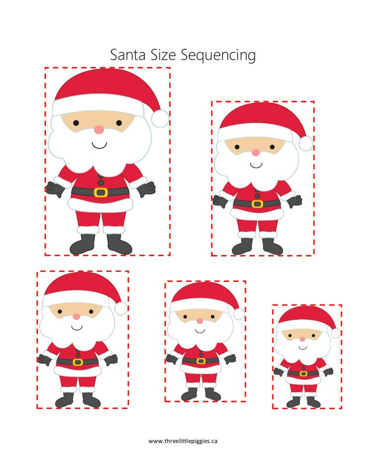 Santa Size Sequencing