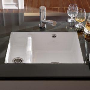 Bon White Porcelain Kitchen Sinks Undermount