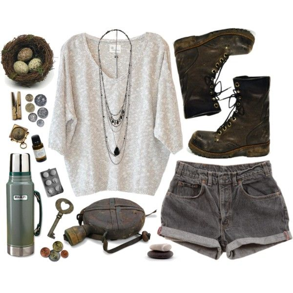 nowhere by desertrat on Polyvore featuring Stella Forest, Forever 21, Stanley, Levi's and Laundry
