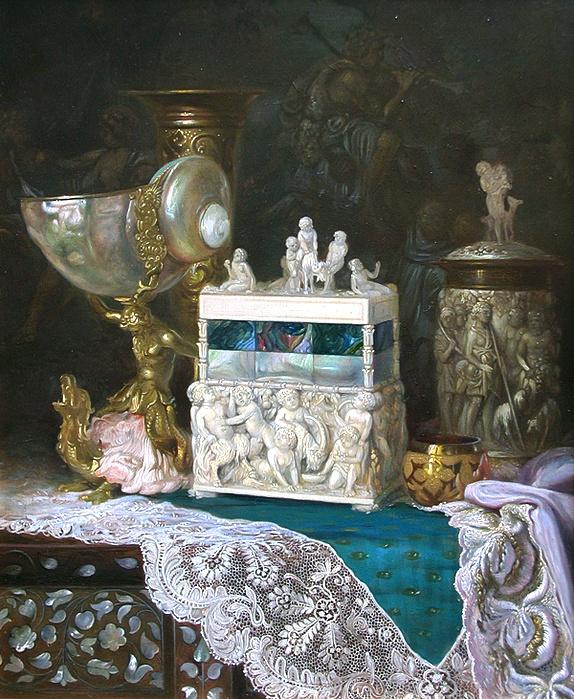 Ludwig Augustin - Still Life