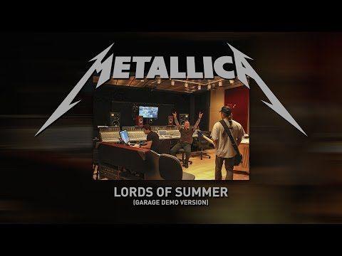 Escucha 'Lords of Summer', el nuevo tema de Metallica