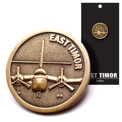 Defence Gifts - East Timor Caribou Badge MS, $6.00 (http://www.defencegifts.com.au/east-timor-caribou-badge-ms/)