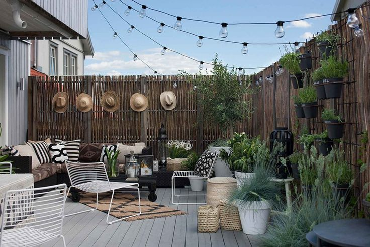 Inspiration for a Bohemain Dream Backyard on a Budget   Apartment Therapy