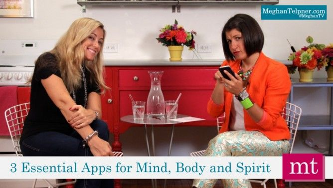 3 Essential Apps For Your Health with Amber Mac #MeghanTV #AmberMac #Tech #UnDiet #wellness