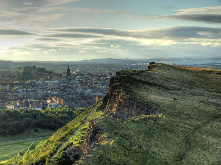 Because you'd feel weird if you couldn't climb to the top of an extinct volcano whenever you felt like it. | 53 Reasons Living In Edinburgh Ruins You For Life