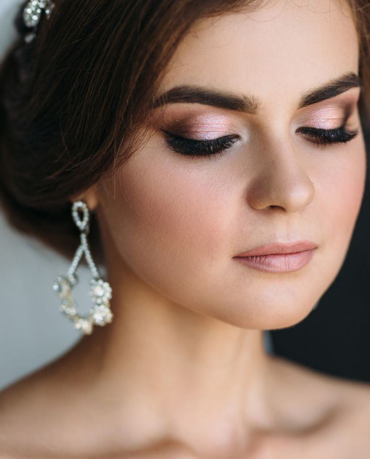 Brautstyling, Braut Make-up, Braut Make-up, Make-up-Ideen. Hochzeit   – All About Eyes / Augen Make-up und Pflege
