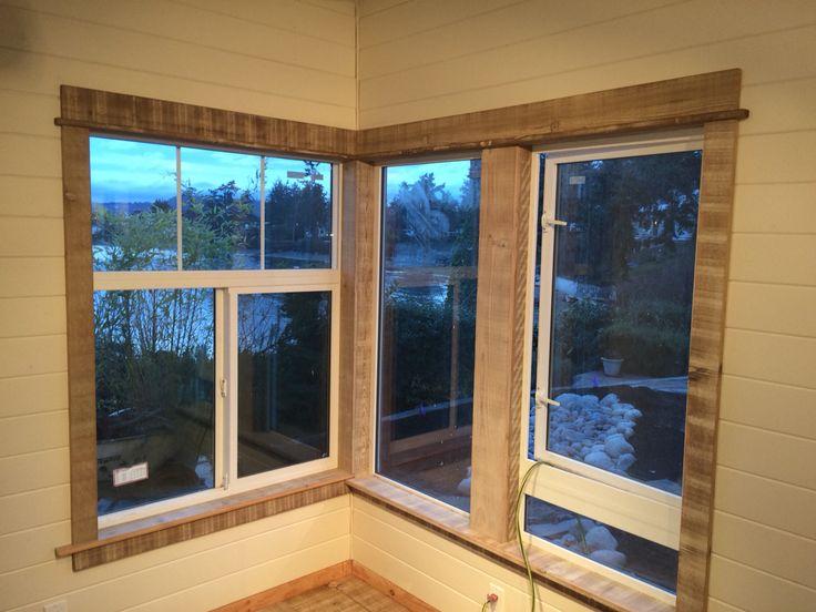 Barnboard Window Trim Floor Trim Cabin Homes New Homes