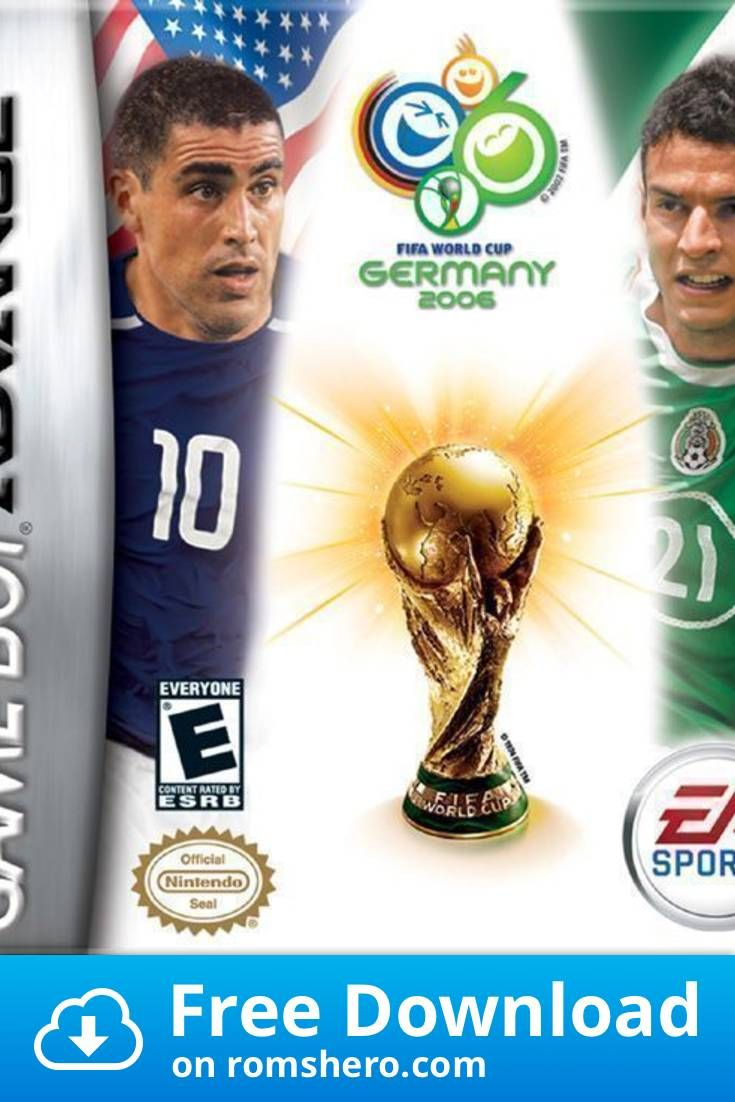 Download Fifa World Cup 2006 Gameboy Advance Gba Rom In 2020 Fifa 2006 Fifa World Cup Fifa